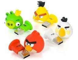 USB Flash 16Gb Angry Birds (подарочная, сувенирная серия) флэшка Арт.