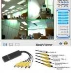 Адаптер (переходник) USB - Easy cap 4 channel (4-х канальная плата видеозахвата). Видео. Конвертер. - фото 6