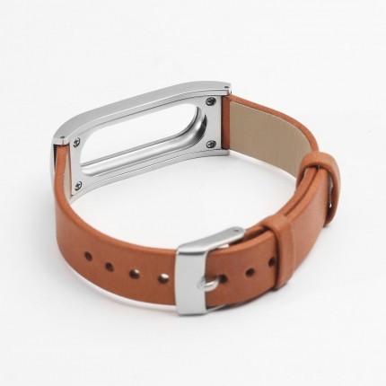 Кожаный браслет для Mi Band. Оригинал. Арт.3967 - фото 2