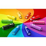 Батарейки Xiaomi Mi Rainbow AA, 10 шт, разноцветные. Оригинал., фото 2