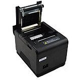 Принтер чеков 80mm XPrinter XP-Q200 POS термопринтер чековый для магазинов, бутиков, кафе и др. Арт.4592, фото 2