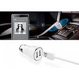 Автомобильная зарядка USB + Bluetooth Xiaomi Mi ROIDMI Car Bluetooth Charger Adapter. Оригинал. Арт.4617, фото 2