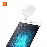 Освещение для съемки сэлфи Xiaomi Mi Selfie LED flash light. Подключение в аудиоразъем. Оригинал. Арт.4632, фото 2