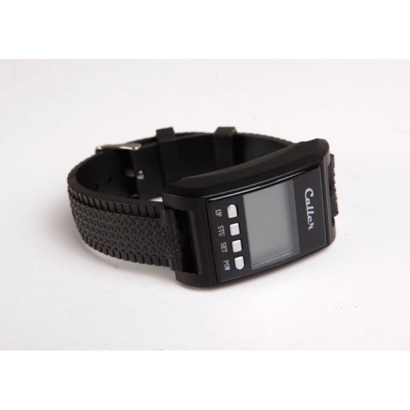 Пейджер-приемник для официанта Caller ZJ-41E-С, в форме наручных часов Арт.4693