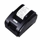 Принтер чеков Xprinter XP-58IIH, 58mm, USB POS термопринтер чековый для магазинов, бутиков, кафе и д Арт.4858, фото 2