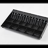 Денежный ящик для купюр и монет MERCURY CD-490 cash drawer (бежевый) Кассовый ящик. Автоматический., фото 2