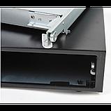 Денежный ящик для купюр и монет MERCURY CD-460 cash drawer (черно-серебристый) Кассовый. Автоматич. Арт.5362, фото 2