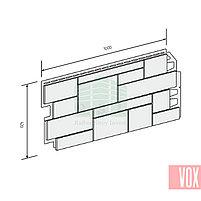 Фасадная панель VOX Sandstone Cream (кремовый), фото 3