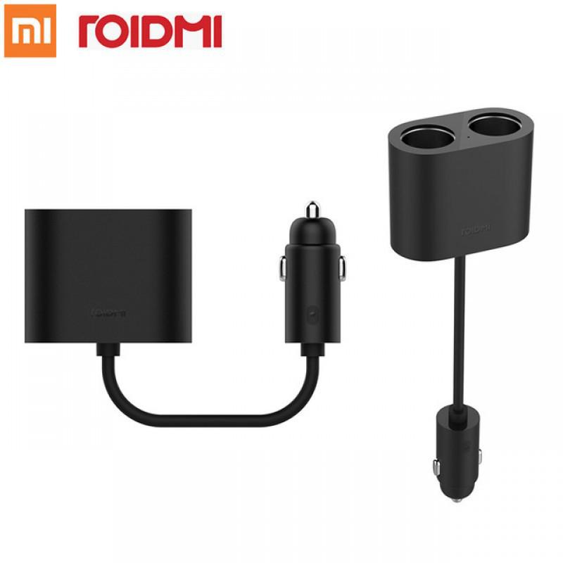 Сплиттер (раздвоитель) для прикуривателя автомобиля Xiaomi Mi RoidMi Cigarette Lighter Splitter. - фото 2