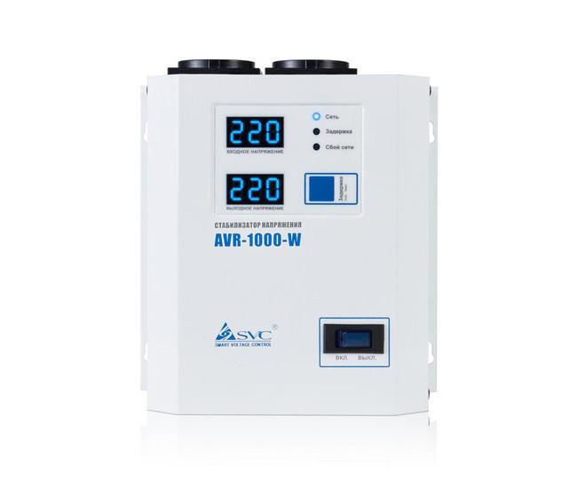 Стабилизатор напряжения (AVR), SVC, AVR-1000-W(1000Вт)