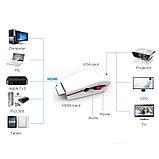 Адаптер (переходник) Dinto HDMI to VGA +audio, для Sony Play Station. Конвертер., фото 2