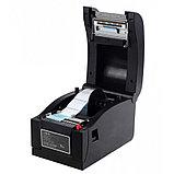 Принтер этикеток чеков 2 в 1 Xprinter XP-350B POS термопринтер чековый для магазинов, бутиков, кафе и др, фото 2
