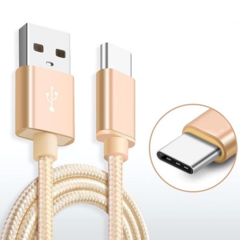 Кабель Xiaomi Mi USB to USB type-C cable, Gold, TPU +Aliminium. Оригинал. - фото 3