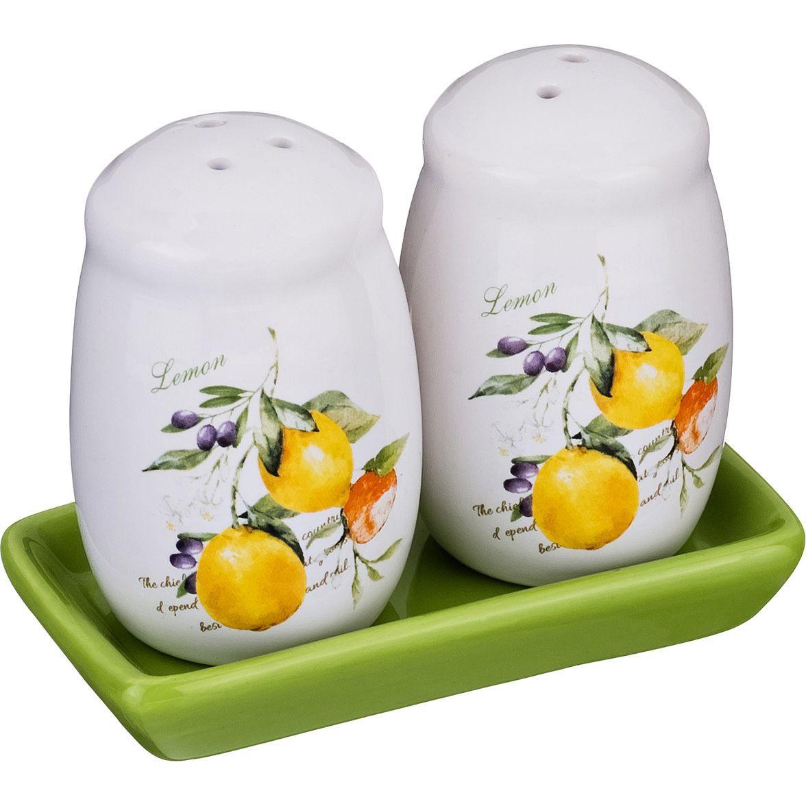 Набор для специй 2 пр. Lefard «Итальянские лимоны»