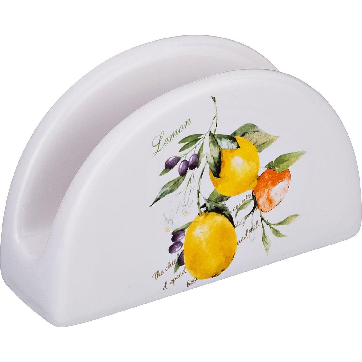 Салфетница Lefard «Итальянские лимоны»
