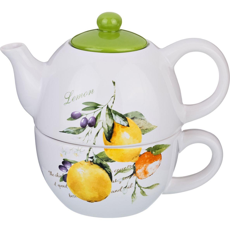 Чайный набор из 2 предметов Lefard «Итальянские лимоны»