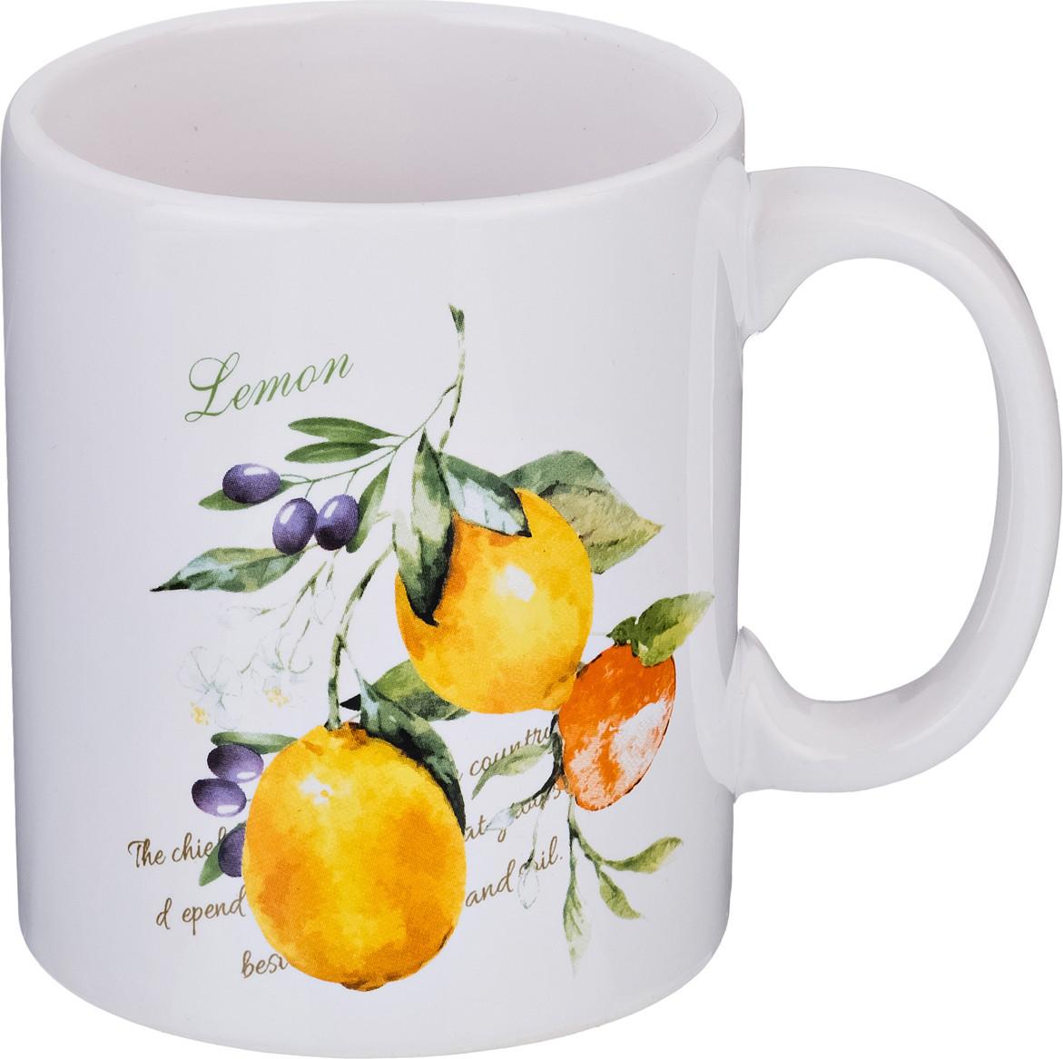 Кружка Lefard «Итальянские лимоны» (350 мл)