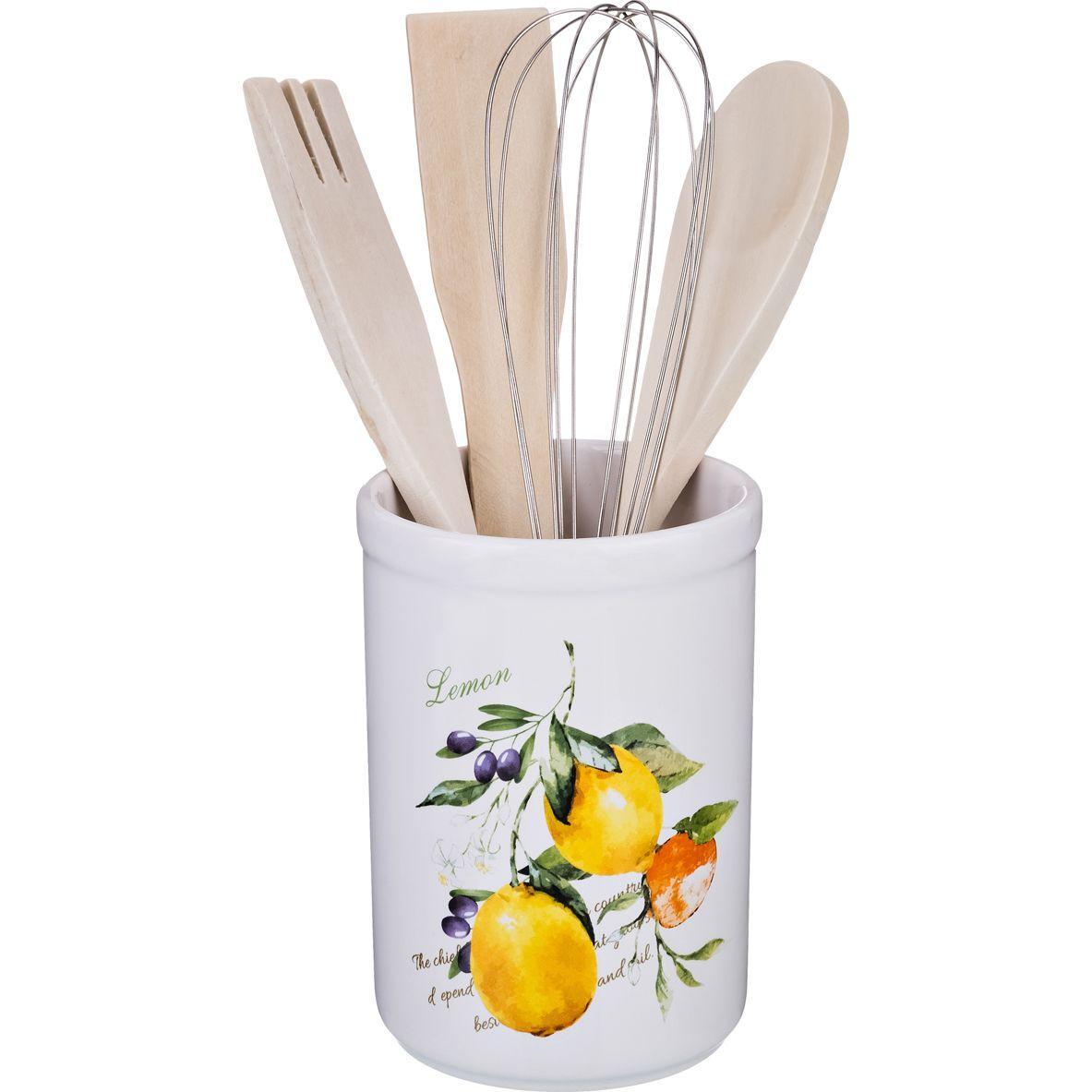 Подставка для кухонных принадлежностей Lefard «Итальянские лимоны»