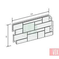 Фасадная панель VOX Sandstone Light Grey (светло-серый), фото 3