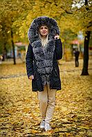 Зимняя куртка парка с мехом на SATU.KZ