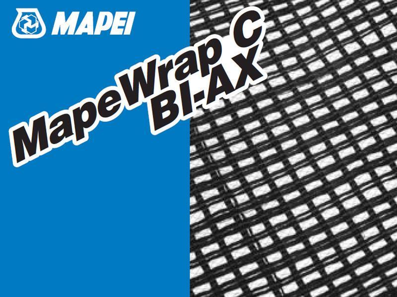 MapeWrap C BI-AX углеволокно для ремонта бетона
