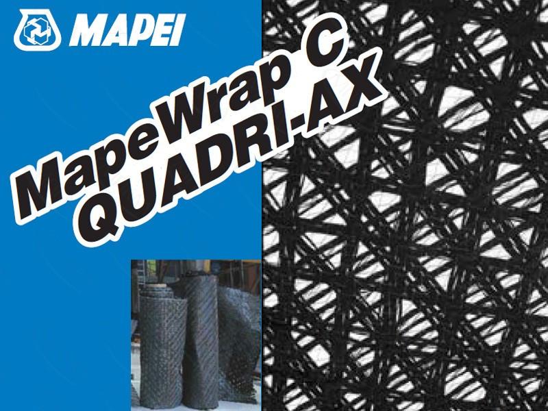 MapeWrap C QUADRI-AX  углеволокно для ремонта бетона