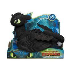 Dragons Игрушка Dragons Плюшевый Беззубик или Ночная Фурия Делюкс