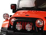 Электромобиль Jeep Wrangler FB-716 (EVA), хаки, фото 4