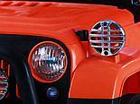 Электромобиль Jeep Wrangler FB-716 (EVA), хаки, фото 5