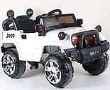 Электромобиль Jeep Wrangler FB-716 (пластик), белый, фото 2