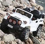 Электромобиль Jeep Wrangler FB-716 (пластик), белый, фото 3