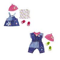 Baby Born одежда джинсовая для куклы Беби Борн 43 см, фото 1
