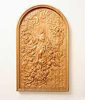 Объемная картина из дерева Вознесение Девы Марии
