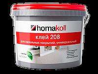 Homakoll 208. Клей для гибких напольных покрытий, для впитывающих оснований.