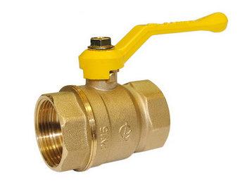 Кран шаровой для газа латунный Valfex 11Б27