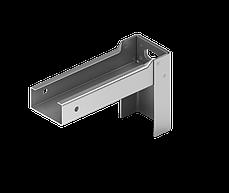Конструкция навесной фасадной системы с воздушным зазором СКЛ-СК-007 для облицовки клинкерной  плитки, фото 2