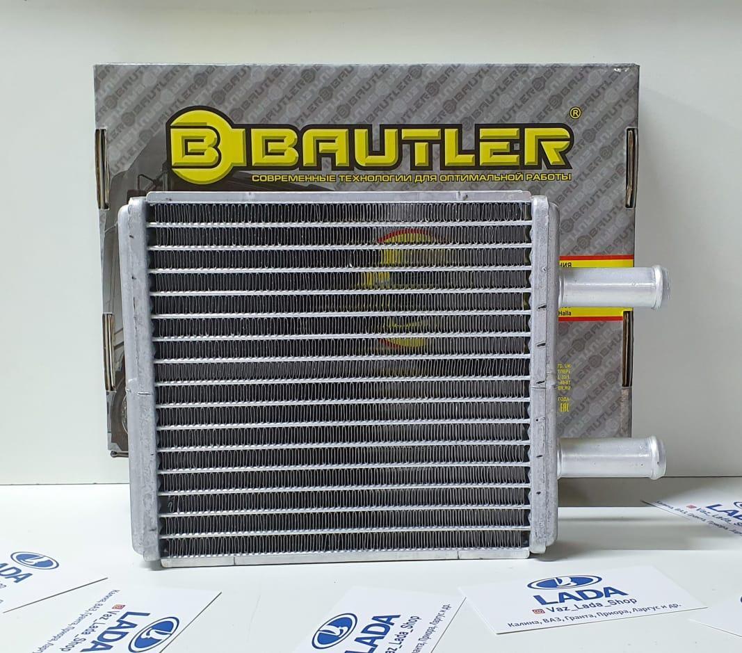 Радиатор Отопления ВАЗ 2170-2172 Priora с А/С, аналог Halla, паяный. (BAUTLER)