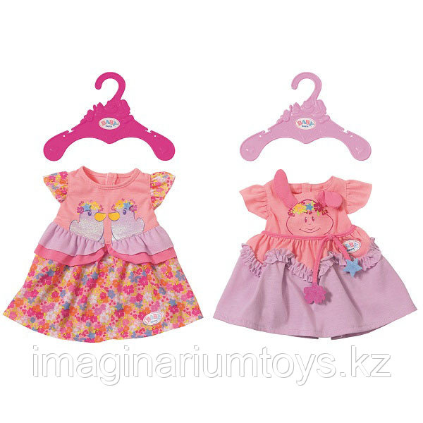 """Baby Born одежда """"Стильные платья"""" для куклы Беби Борн 43 см"""