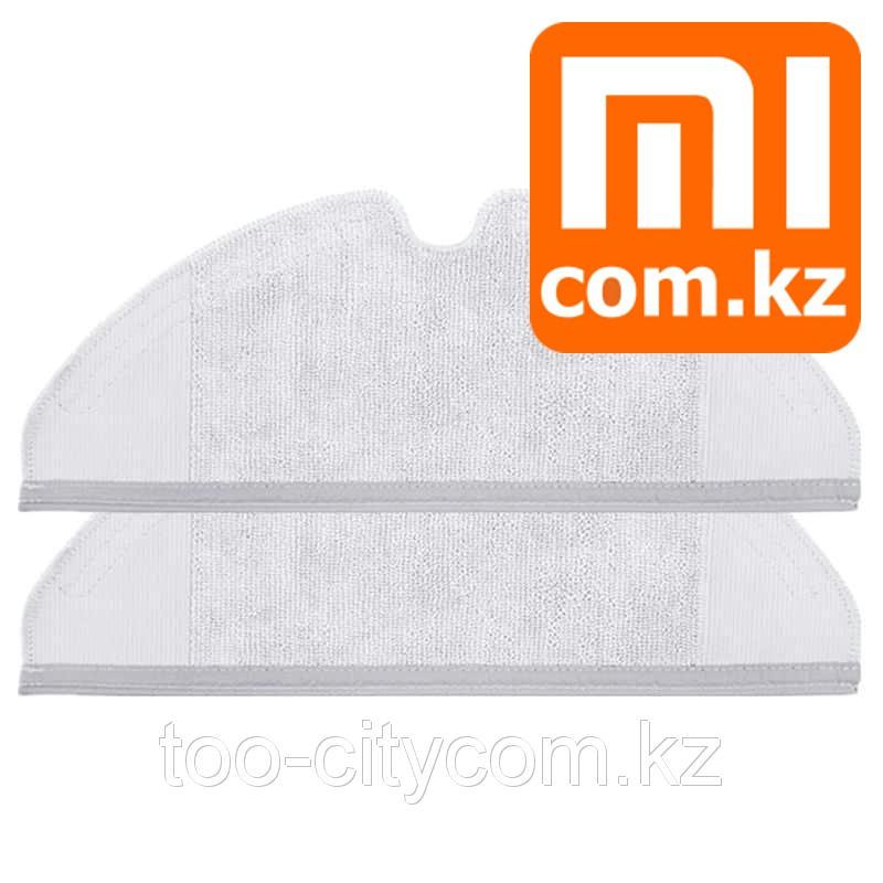 Сменная тряпка (MOP) для Xiaomi Mi Robot vacuum cleaner Roborock sweep one, 2 шт. Оригинал. Арт.6424