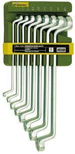 23810 Proxxon Набор накидных коленчатых ключей, 8 шт, 6-22мм