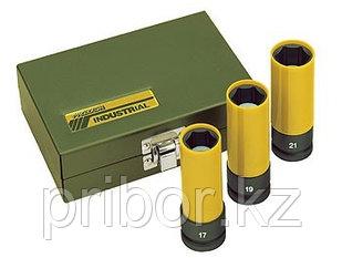 23938 Proxxon Набор головок для гайковерта, 3шт.