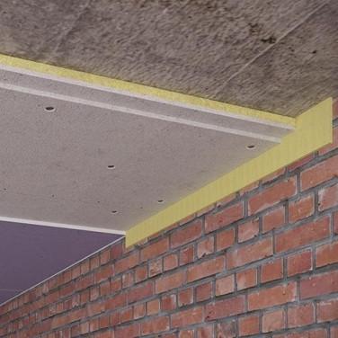 Бескаркасная звукоизоляция потолка Эконом