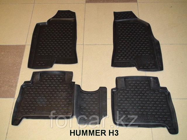 Коврики в салон HUMMER H3 2005-