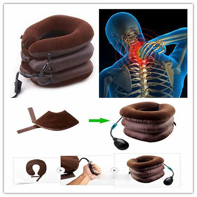 Тройная подушка для шеи  при шейном остеохондрозе