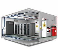 Монтаж и установка систем газового пожаротушения