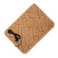 Коврик из ковролина с подогревом для сушки обуви и обогрева «Сухое Тепло» (55 х 33 см)