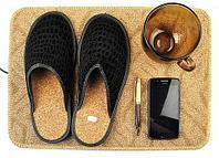 Коврик из ковролина с подогревом для сушки обуви и обогрева «Сухое Тепло» (50x35 см)
