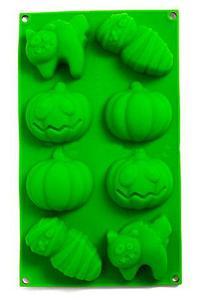 Силиконовая форма для выпечки и шоколада «Праздничные штучки» (Хэллоуин)