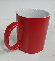 Кружка хамелеон (меняющая цвет) под сублимацию, красный