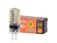 Лампа LED WOLTA JC 2.5Вт 200лм  G4 220V 3000K 1/5/100/1000